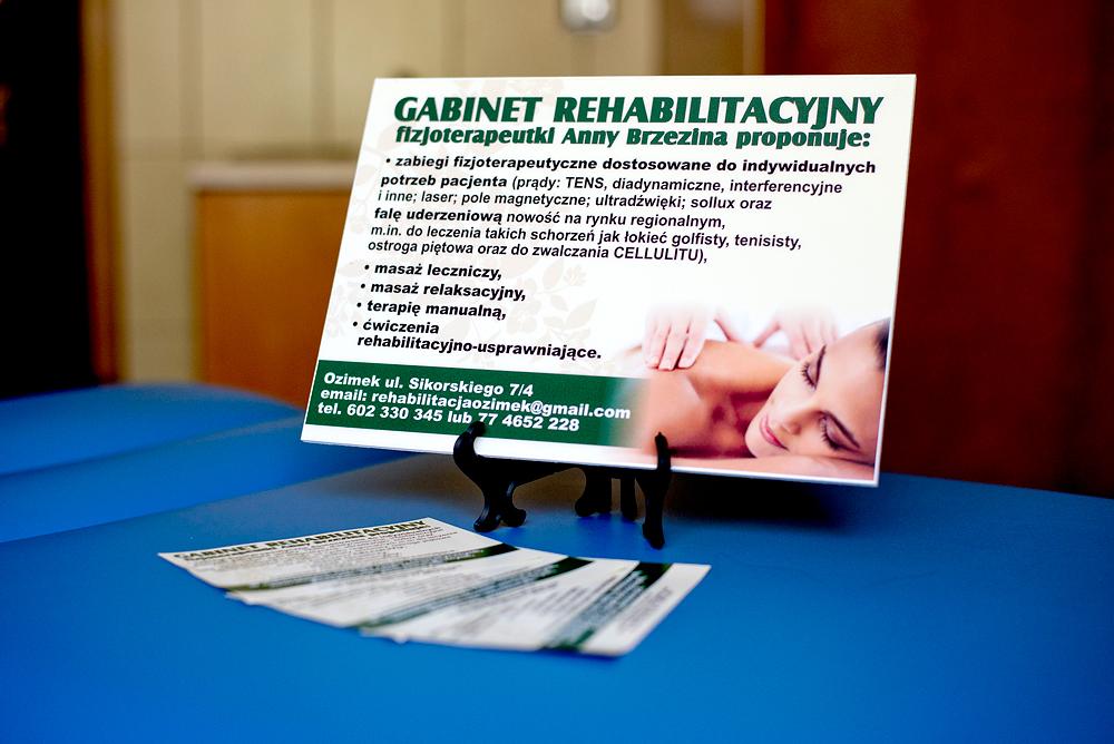 W okresie wakacyjnym zapraszam do GABINETU REHABILITACYJNEGO na zabiegi rehabilitacyjne, masaże również relaksacyjne…